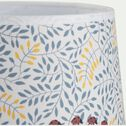 Abat-jour avec découpe motif coccinelles d35cm - multicolore-Saulette