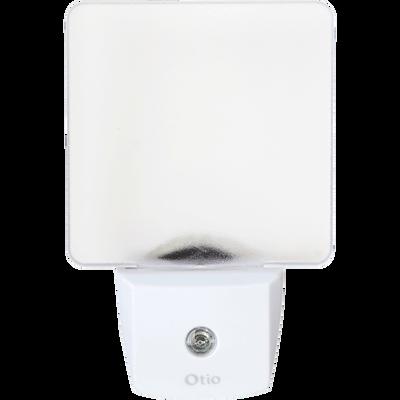 Veilleuse crépusculaire automatique blanche à LED-VELLA
