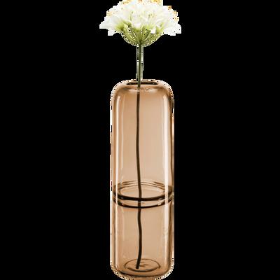 Vase en verre camel H24 cm-RENO