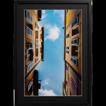 Image encadrée 50x70cm-BICLOU