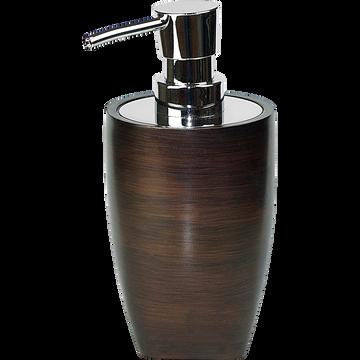 Distributeur de savon marron métallisé-TONKA