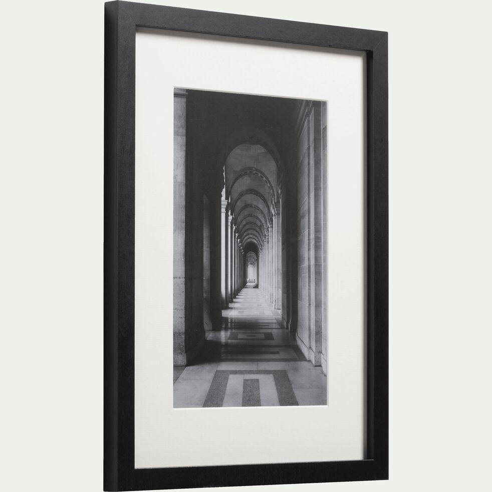 Image encadrée noir et blanc 30x40cm-SALAMAN