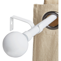Tringle extensible blanc mat 210 à 380cm-SPHERE