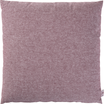 Coussin chambray rouge sumac 40x40cm-CORBIERE