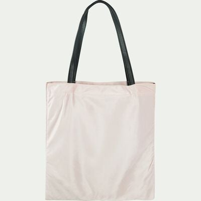 Sac en velours rose-SANTAL