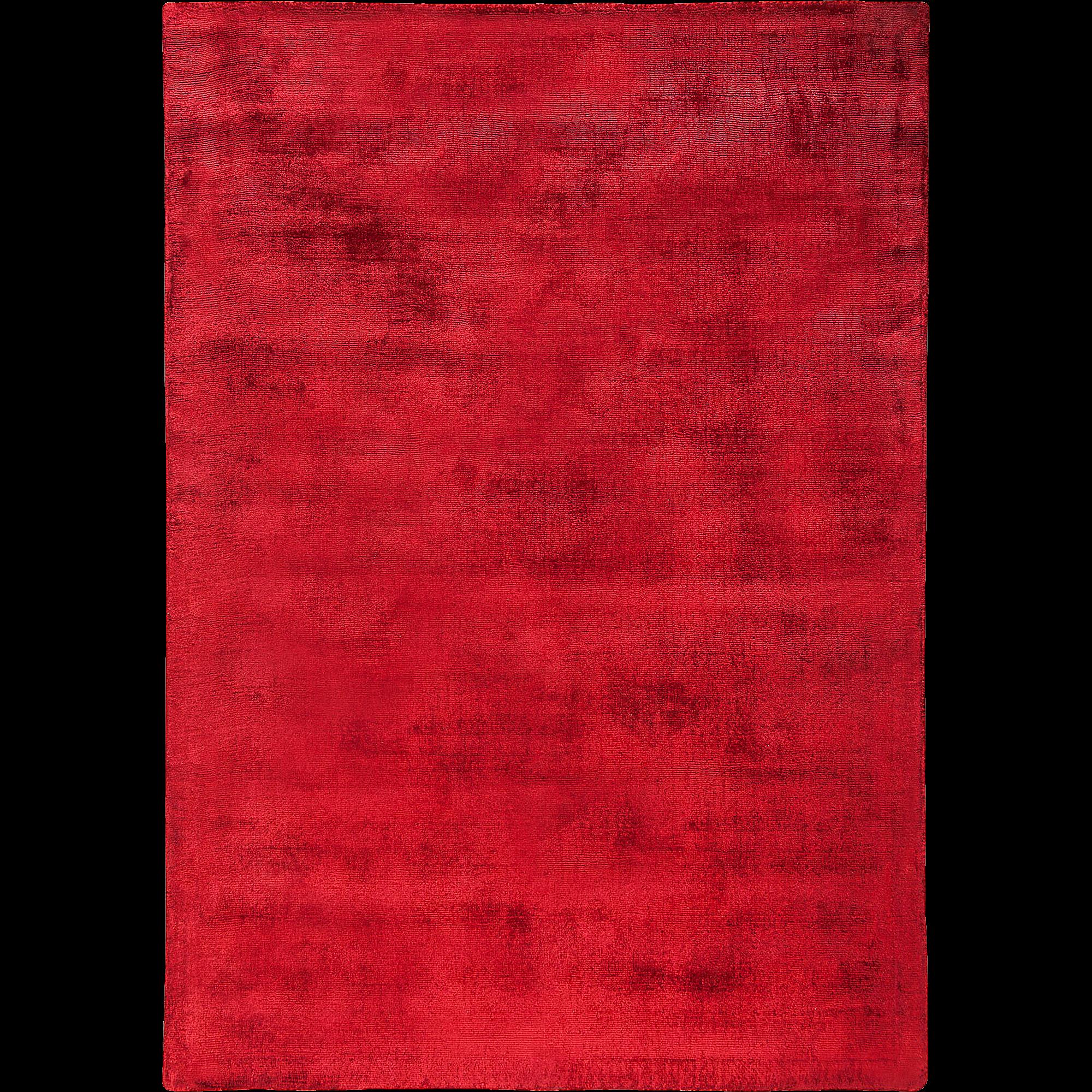 Tapis En Viscose Rouge 160x230cm TANSEN