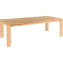 Table de repas en chêne massif - 6 à 10 places-EMOTION