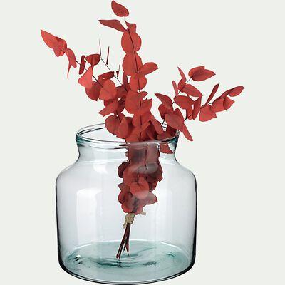 Vase en verre recyclé - H20xD21cm-ABLETTE