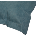 Pouf d'extérieur uni bleu figuerolles 150x130cm-Varenne