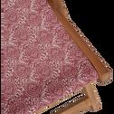 Chilienne de jardin à motif amande rouge sumac-UDINE