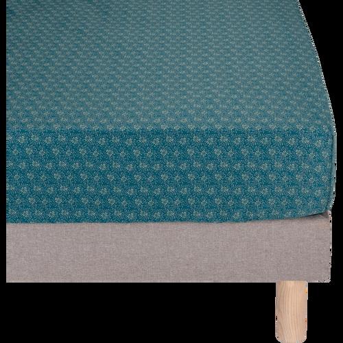 housse de couette en satin motif fleurs de jasmin plusieurs tailles soun 260x240 cm. Black Bedroom Furniture Sets. Home Design Ideas