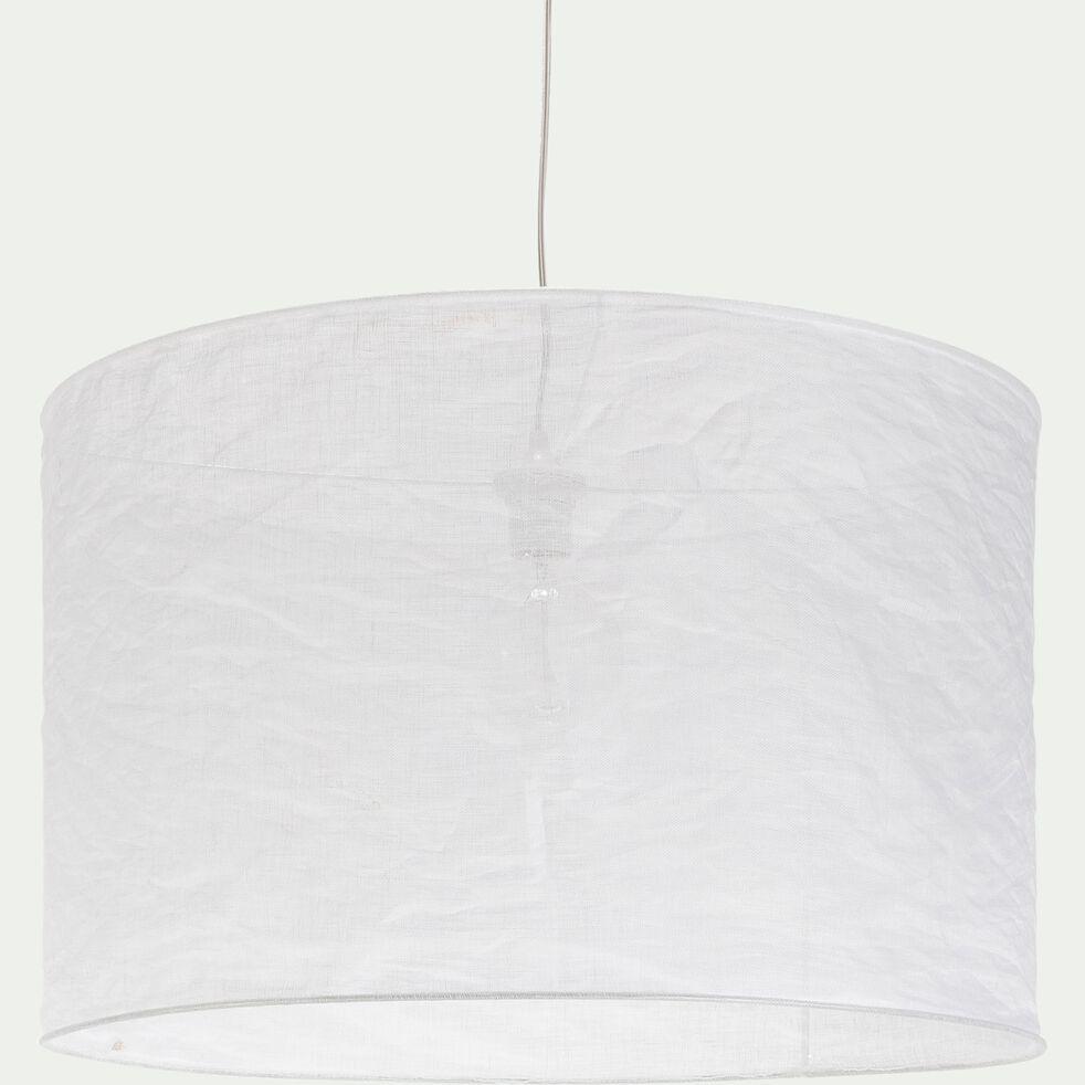 Suspension en lin blanc D60cm-ORMES