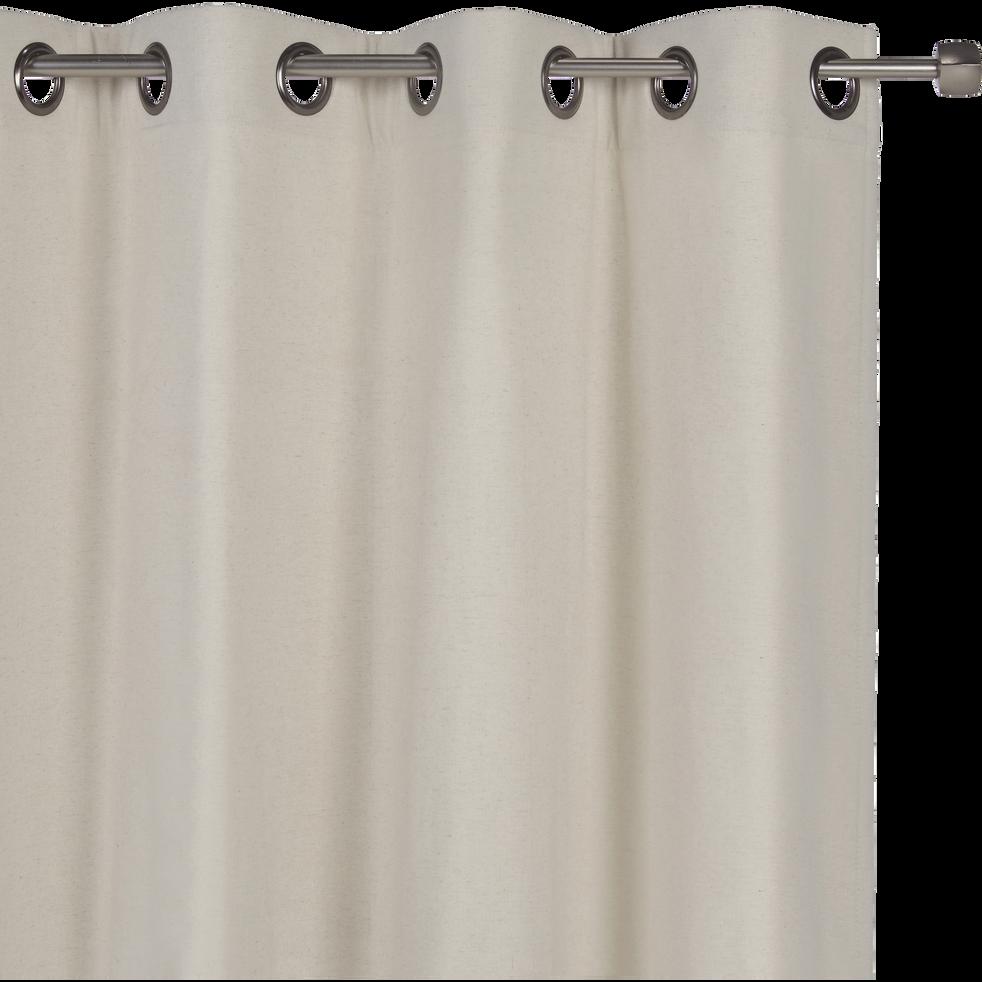 Rideau thermique beige roucas 140x300cm-CEZE