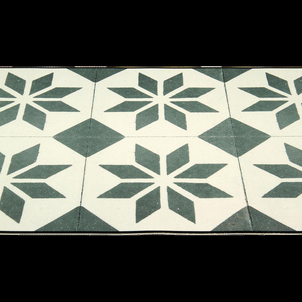 tapis de cuisine carreaux de ciment 50x120cm en vinyle vistacimen2 50x120 cm tapis de. Black Bedroom Furniture Sets. Home Design Ideas