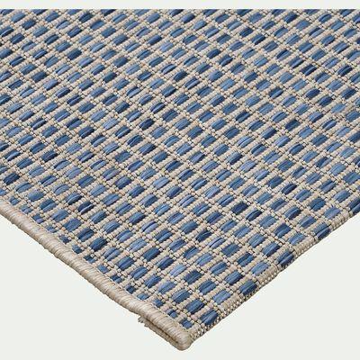 Tapis intérieur et extérieur - bleu 120x170cm-Baudouin