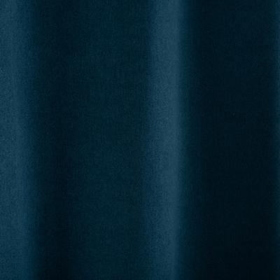 Rideau à œillets occultant bleu figuerolles 140x260cm-ATOWA