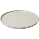 Assiette à dessert en faïence gris borie d21cm-VADIM