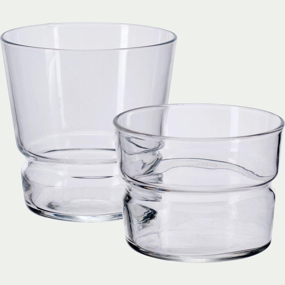 Verre transparent en verre 22cl-BRERA