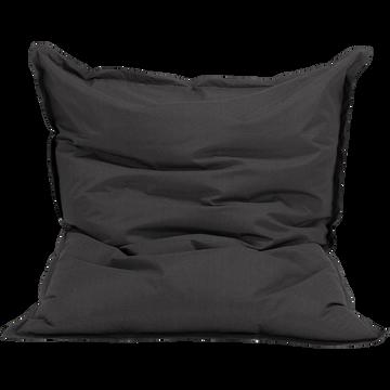 Pouf d'extérieur gris anthracite 150x130cm-Varenne