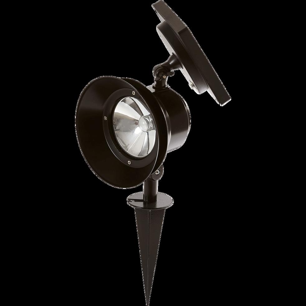 Spot solaire à LED à planter H39cm en acier-BIG WALY