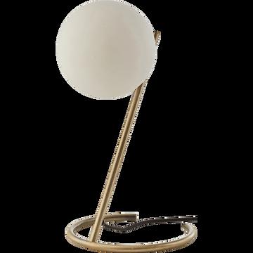 Lampe à poser en verre D21xH38cm-MARIA