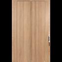 Armoire 2 portes battantes chêne-NATURELA