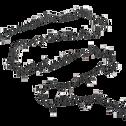 Guirlande lumineuse 16m - 750 led rouge-COMPACT