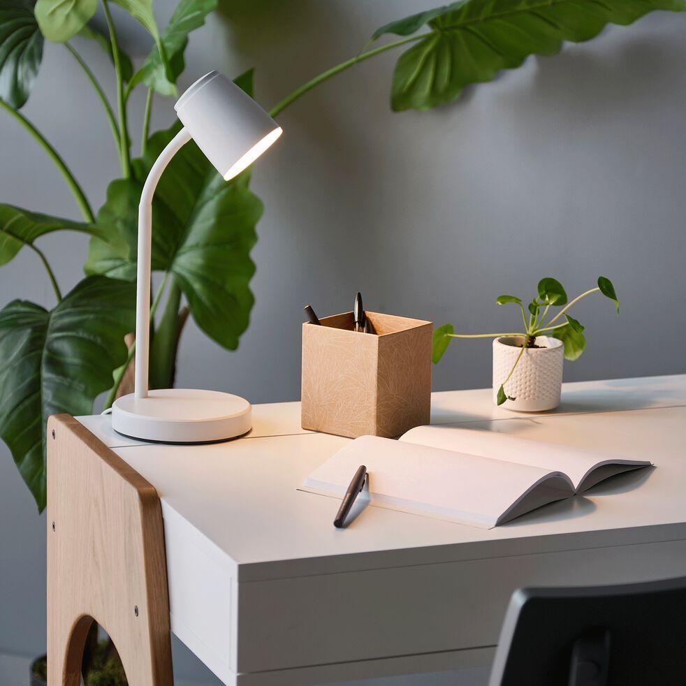 Lampe de bureau LED - blanc-LUDI