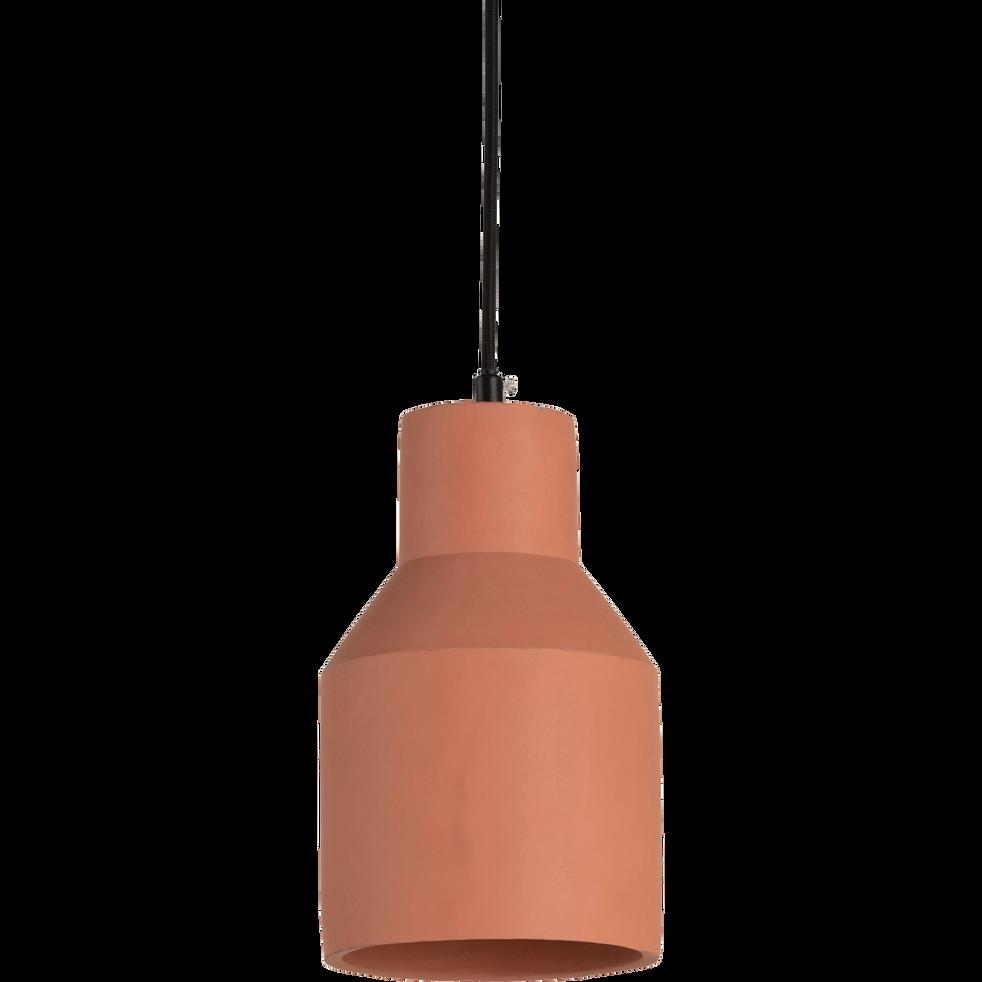 Suspension électrifiée en ciment terracotta-KAOLON