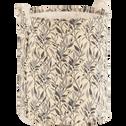 Panier à linge motif fleur d'oranger-ALEXIA