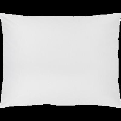 Lot de 2 taies oreiller 50x70cm blanc optique-CALANQUES