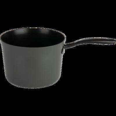 Casserole anti-adhésif grise D20cm (tous feux dont induction)-ESCAL