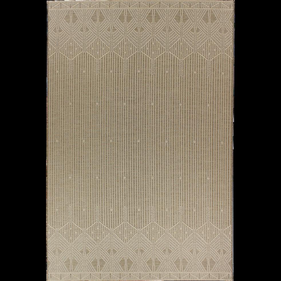 tapis ext rieur et int rieur cru 120x170cm zout. Black Bedroom Furniture Sets. Home Design Ideas