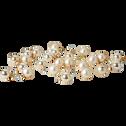 24 mini boules de Noël en verre perle D2,5cm-NIVE