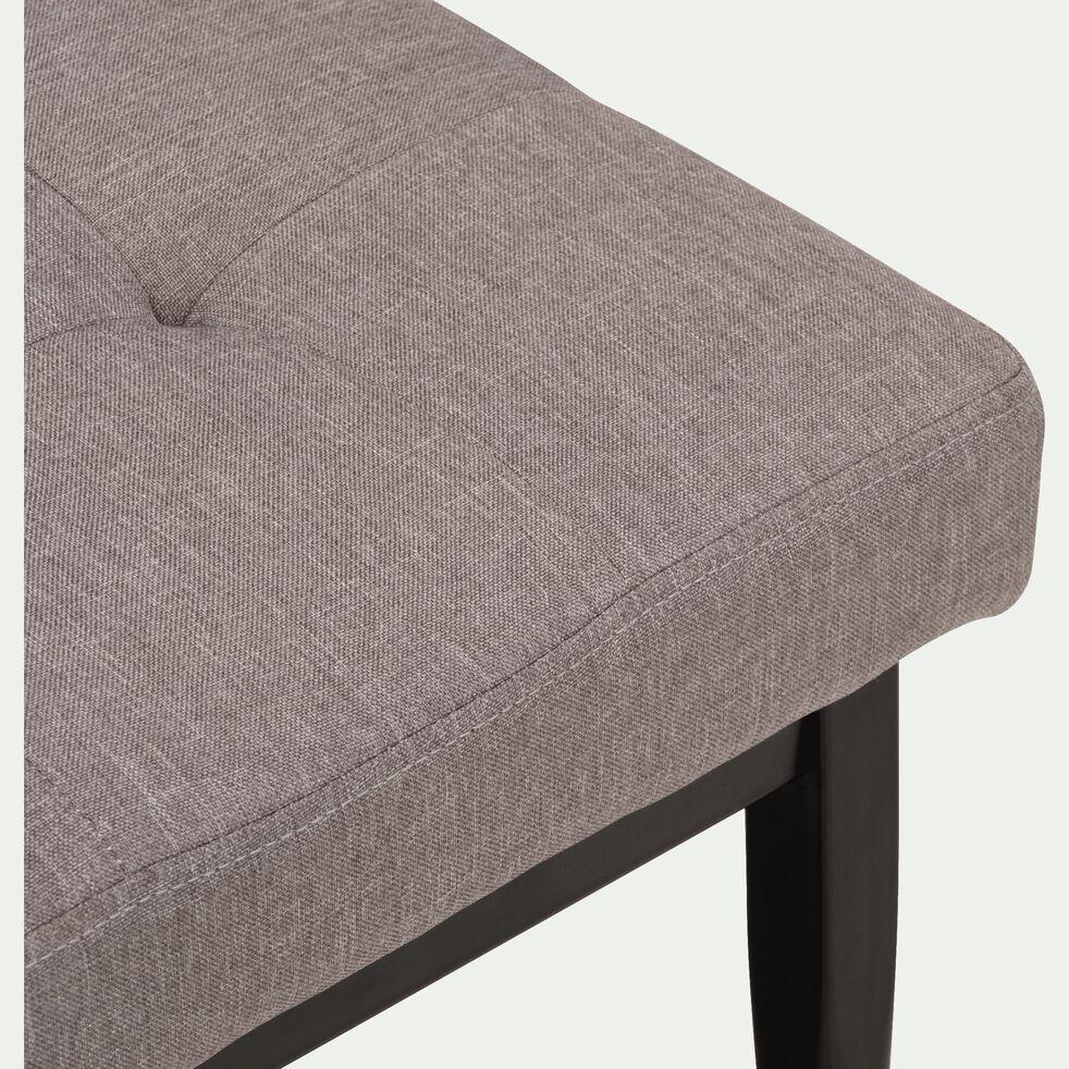 Banc - gris moyen L100x35lxH45cm-BRESTALOU