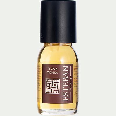 Concentré de parfum teck et tonka - 15ml-ESTEBAN