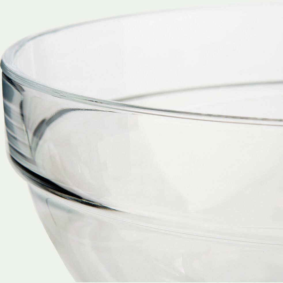Saladier en verre transparent D7cm-VELLY