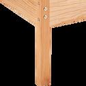 Lit 1 place cabane en pin massif - 90x200 cm-ALOUETTE