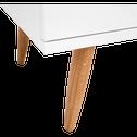 Commode 3 tiroirs Blanc-HAZE