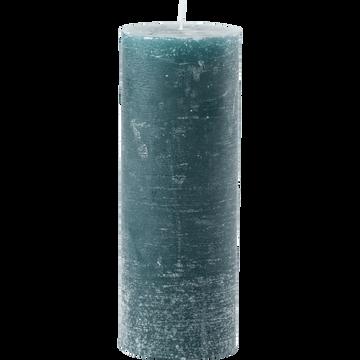Bougie cylindrique coloris bleu niolon-BEJAIA