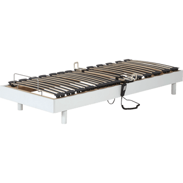 Sommier de relaxation Alinea 12,5 cm Blanc - 80x200 cm-TECHNOBED