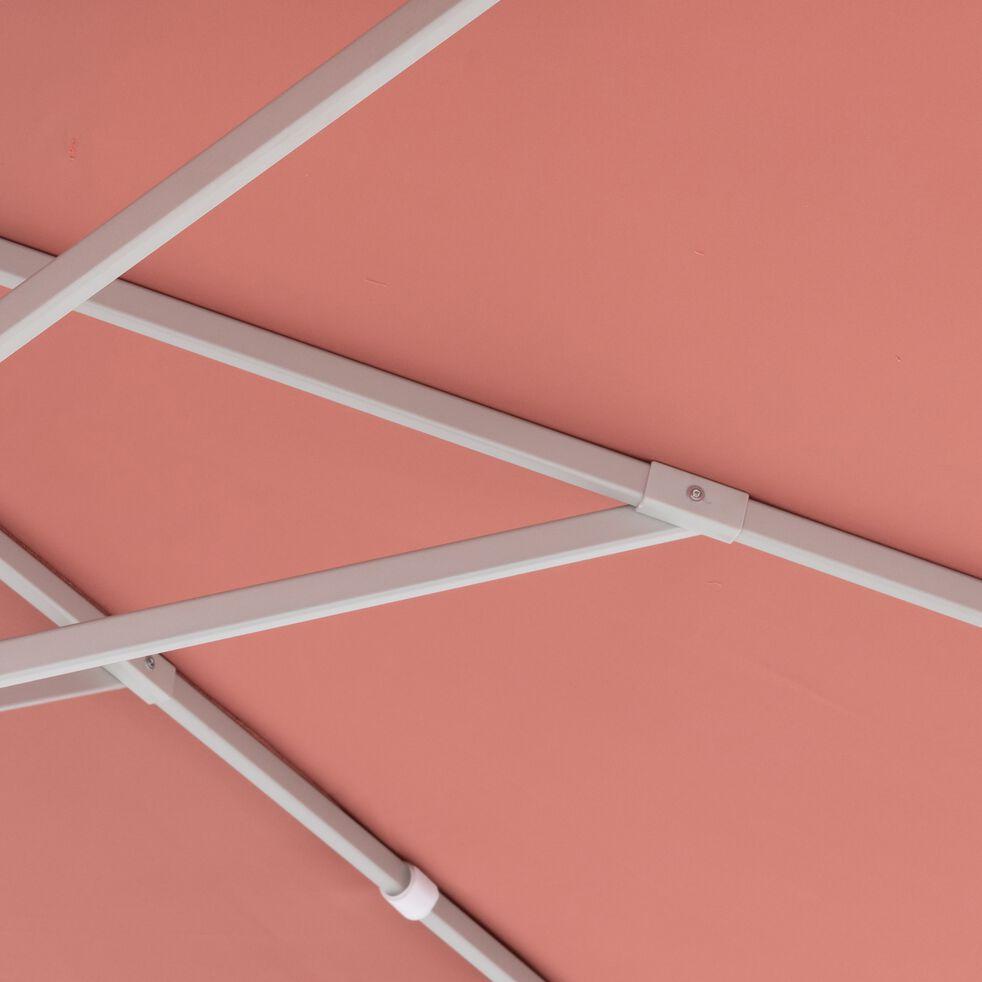 Parasol avec manivelle L3xl3m - rouge ricin-UMBERTA