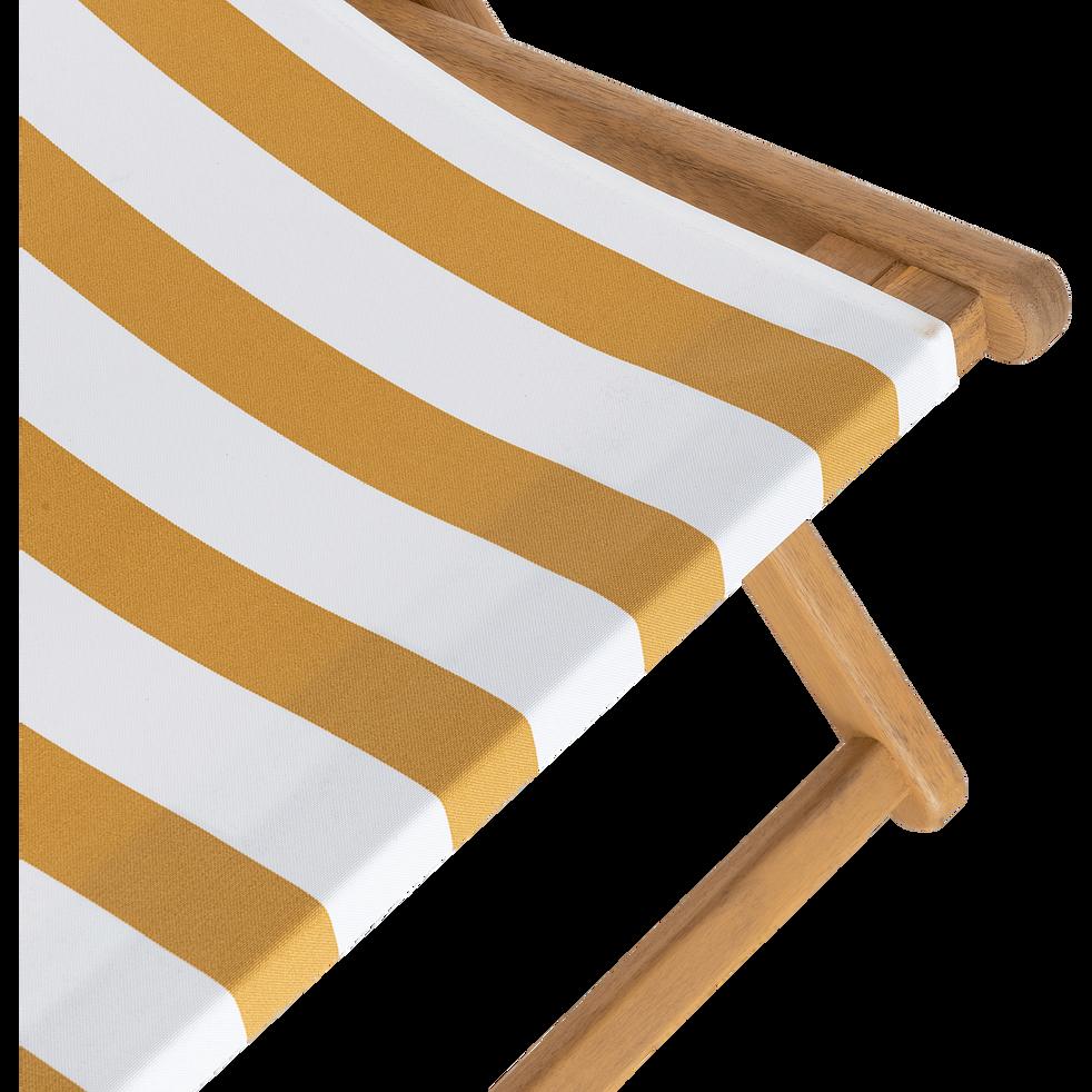 Toile de chilienne de jardin à rayures - jaune-Udine