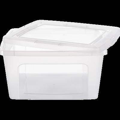 Boîte avec couvercle en plastique 18L-MODULAR