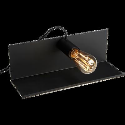 Applique aimantée en métal noir L35cm-FELICIE