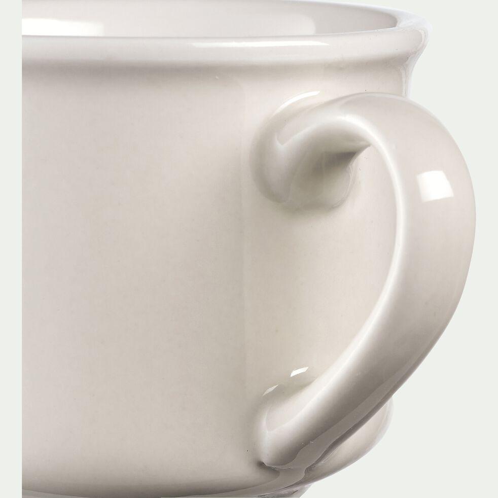 Tasse en porcelaine beige roucas 9cl-CAFI