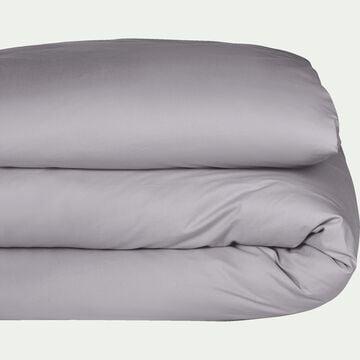 Housse de couette en coton - gris restanque 140x200cm-CALANQUES