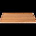 Plateau en bois clair D43cm-SEGUR