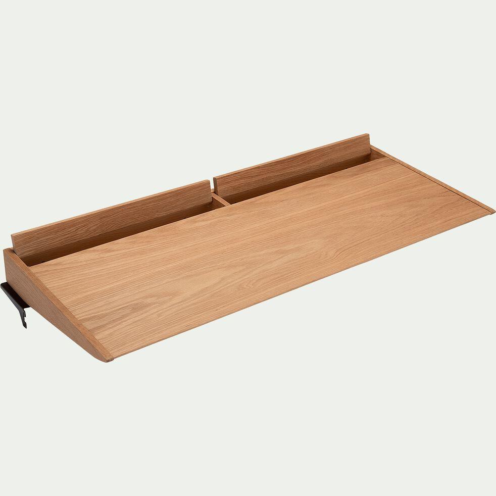 Bureau à composer plaqué chêne L110cm-PORTPIN