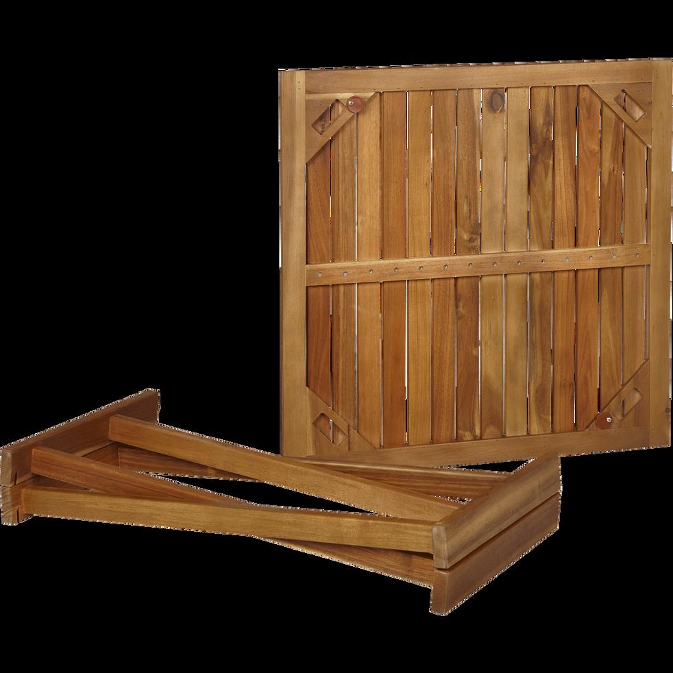 Table basse de jardin pliante en acacia - Guérande - tables basses ...